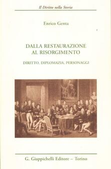 Letterarioprimopiano.it Dalla Restaurazione al Risorgimento. Diritto, diplomazia, personaggi Image