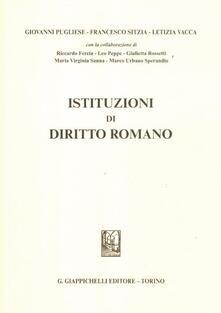 Writersfactory.it Istituzioni di diritto romano Image