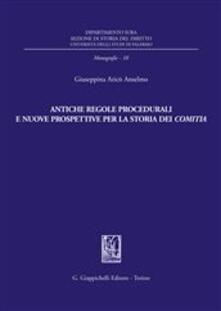 Criticalwinenotav.it Antiche regole procedurali e nuove prospettive per la storia dei comitia Image