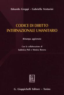 Camfeed.it Codice di diritto internazionale umanitario Image