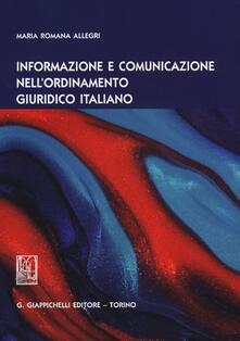 Informazione e comunicazione nellordinamento giuridico italiano.pdf