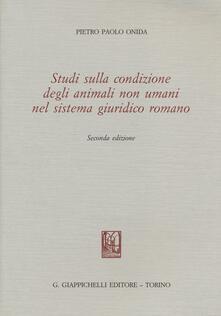 Voluntariadobaleares2014.es Studi sulla condizione degli animali non umani nel sistema giuridico romano Image