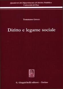 Ristorantezintonio.it Diritto e legame sociale Image