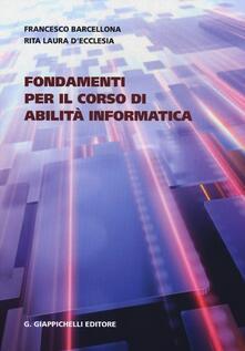 Filippodegasperi.it Fondamenti per il corso di abilità informatica Image