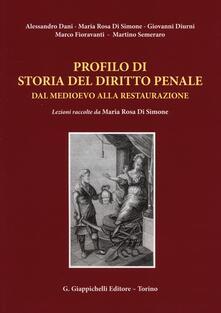 Osteriacasadimare.it Profilo di storia del diritto penale dal medioevo alla restaurazione Image
