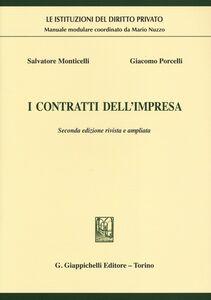 Libro I contratti dell'impresa Salvatore Monticelli , Giacomo Porcelli