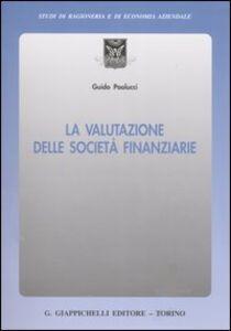 Libro La valutazione delle società finanziarie Guido Paolucci