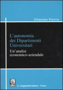 Listadelpopolo.it L' autonomia dei dipartimenti universitari. Un'analisi economico-aziendale Image