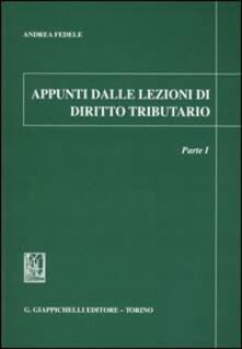 Filmarelalterita.it Appunti dalle lezioni di diritto tributario. Vol. 1 Image