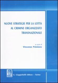 Osteriacasadimare.it Nuove strategie per la lotta al crimine organizzato transnazionale Image