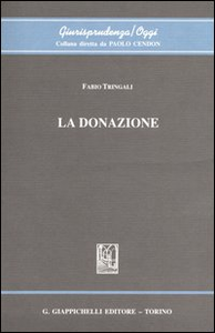 Libro La donazione Fabio Tringali