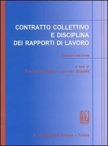 Contratto collettivo e disciplina dei rapporti di lavoro
