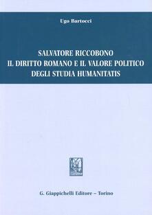 Salvatore Riccobono il diritto romano e il valore politico degli studia humanitatis.pdf