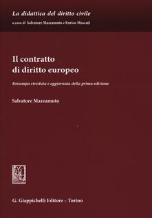 Filippodegasperi.it Il contratto di diritto europeo Image