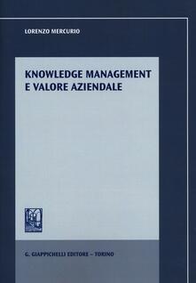 Knowledge management e valore aziendale.pdf