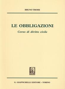 Le obbligazioni. Corso di diritto civile