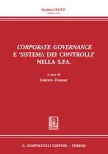 Ristorantezintonio.it Corporate governance e «sistema dei controlli» nella s.p.a. Image