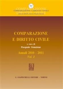 Camfeed.it Comparazione e diritto civile. Annali. Vol. 1: 2010-2011. Image