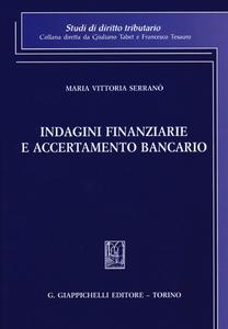 Libro Indagini finanziarie e accertamento bancario M. Vittoria Serranò
