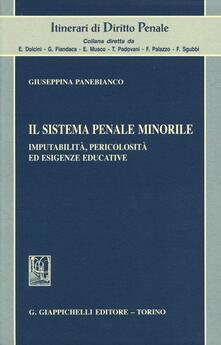 Fondazionesergioperlamusica.it Il sistema penale minorile. Imputabilità, pericolosità ed esigenze educative Image