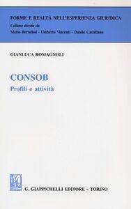 Foto Cover di Consob. Profili e attività, Libro di Gianluca Romagnoli, edito da Giappichelli
