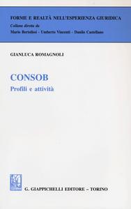 Libro Consob. Profili e attività Gianluca Romagnoli