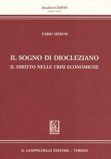Radiospeed.it Il sogno di Diocleziano. Il diritto nelle crisi economiche Image