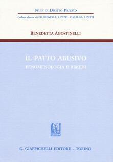 Il patto abusivo. Fenomenologia e rimedi.pdf
