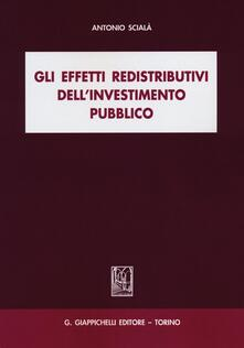 Capturtokyoedition.it Gli effetti redistributivi dell'investimento pubblico Image