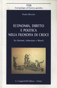 Listadelpopolo.it Economia, diritto e politica nella filosofia di Croce. Tra finzione, istituzioni e libertà Image