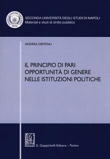 Ipabsantonioabatetrino.it Il principio di pari opportunità di genere nelle istituzioni politiche Image