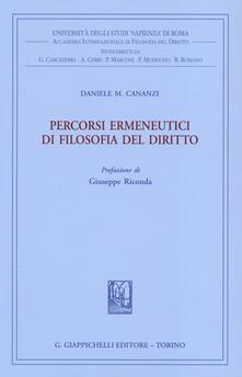 Daddyswing.es Percorsi ermeneutici di filosofia del diritto. Vol. 1 Image