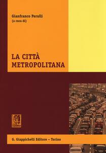 La città metropolitana - copertina