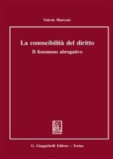 Camfeed.it Conoscibilità del diritto Image