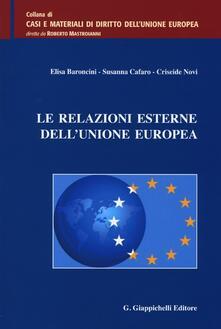 Le relazioni esterne dellUnione europea.pdf