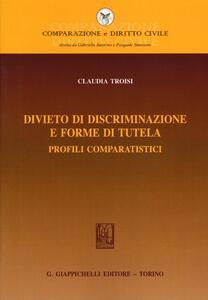 Divieto di discriminazione e forme di tutela. Profili comparatistici
