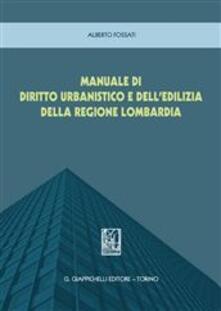 Camfeed.it Manuale di diritto urbanistico Regione Lombardia Image