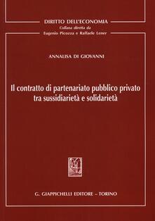Criticalwinenotav.it Il contratto di partenariato pubblico privato tra sussidiarietà e solidarietà Image
