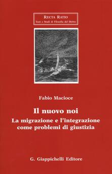 Premioquesti.it Il nuovo noi. La migrazione e l'integrazione come problemi di giustizia Image