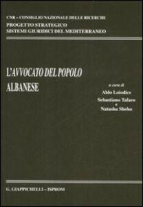 Libro L' avvocato del popolo albanese