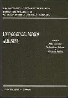 Antondemarirreguera.es L' avvocato del popolo albanese Image
