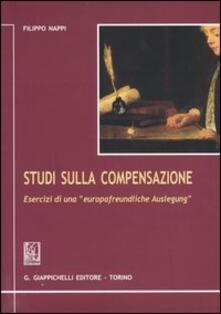 Osteriacasadimare.it Studi sulla compensazione. Esercizi di una «Europafreundliche Auslegung» Image