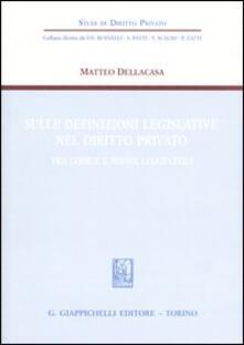 Fondazionesergioperlamusica.it Sulle definizioni legislative nel diritto privato. Fra codice e nuove leggi civili Image
