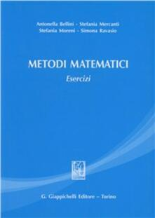 Promoartpalermo.it Metodi matematici. Esercizi Image
