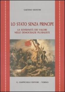 Librisulladiversita.it Lo Stato senza principe. La sovranità dei valori nelle democrazie pluraliste Image