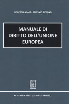 Voluntariadobaleares2014.es Manuale di diritto dell'Unione europea Image