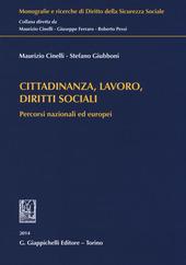 Cittadinanza, lavoro, diritti sociali. Percorsi nazionali ed europei