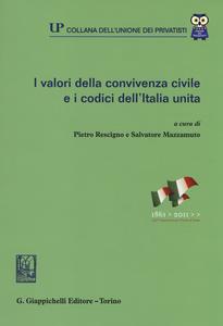 Libro I valori della convivenza civile e i codici dell'Italia unita