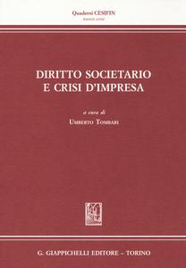 Libro Diritto societario e crisi d'impresa