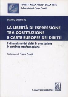 Laboratorioprovematerialilct.it La libertà di espressione tra Costituzione e Carte europee dei diritti. Il dinamismo dei diritti in una società in continua trasformazione Image